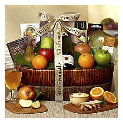Love and Sympathy Fresh Fruit Basket