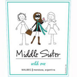 Middle Sister Wild One Malbec Wine