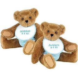 Twin Boy Teddy Bears