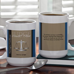 Personalized Legal Professional 15-Ounce Coffee Mug