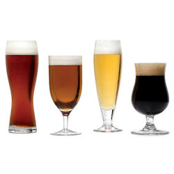 Brewmasters Crystal Varietal Glasses