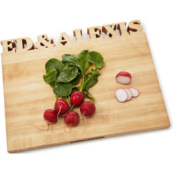 Carved Out Personalization Cutting Board
