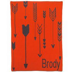 Tribal Arrows Personalized Stroller Blanket