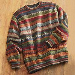 Bolivian Alpaca Sweater