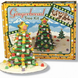 Christmas Gingerbread Cookie Tree Kit