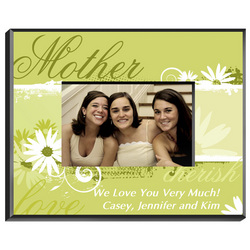 Personalized Delicate Daisy Picture Frame