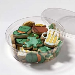 St. Patrick's Day Mini Cookies