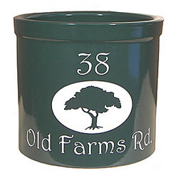 Personalized Tree Crock