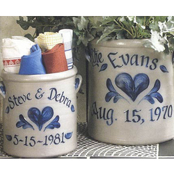 Personalized Heart Crock