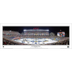 2011 NHL Winter Classic ® Panoramic Framed Print