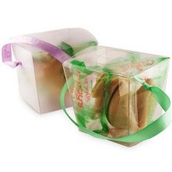 Fortune Cookies Wedding Favor Takeout Box