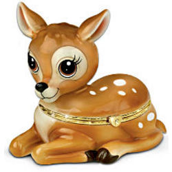 Daughter, You're My Little Dear Fawn Music Box