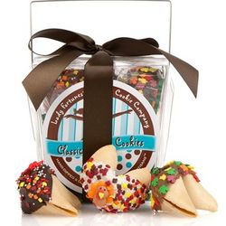 Take Out Pail of 6 Thanksgiving Fortune Cookies