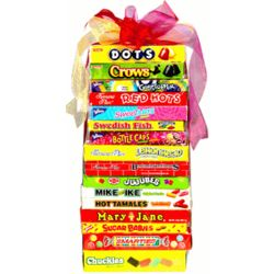 Mega Movie Night Candy Theatre Box Gift Tower