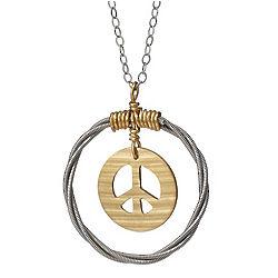 Peace Cymbal Pendant
