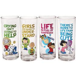 Peanuts Juice Glasses