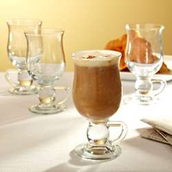 Personalized Cappuccino Glasses