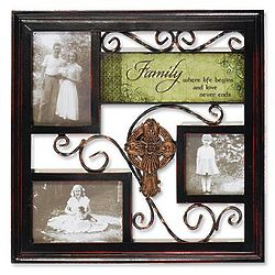 Irish Family Photo Wall Hanging