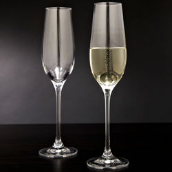 Forever Bubbling Champagne Flutes