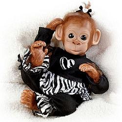Baby Binti Chimpanzee Doll