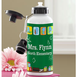 Teacher's Little Learners Personalized Water Bottle