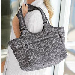 Women's Patterned All Around Tote
