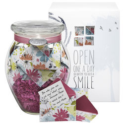 Bountiful Bouquet Jar of Messages in Mini Envelopes