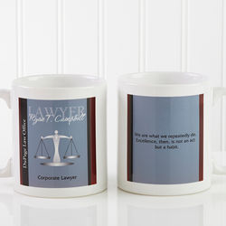 Personalized Legal Professional 11-Ounce Coffee Mug