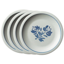 Yorktowne Stoneware Dinner Plates