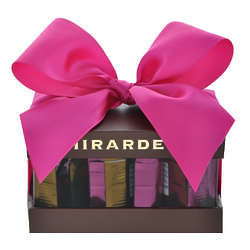 Ghirardelli Squares Chocolates Pink Bow Gift Box