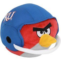 Kansas Jayhawks Angry Birds Helmet Plush
