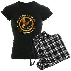 Golden Mockingjay Women's Dark Pajamas