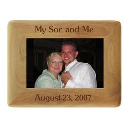Me and My Son Photo Frame
