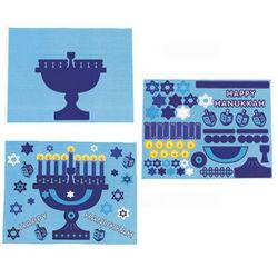 Hanukkah Festival of Lights Sticker Scenes