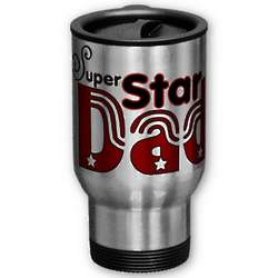 Super Star Dad Travel Mug
