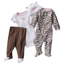 Carter's Zebra Sleep and Play Set