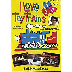I Love Toy Trains DVD