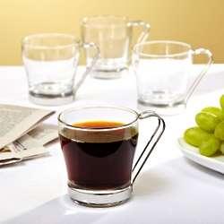 Espresso Glass Coffee Mugs