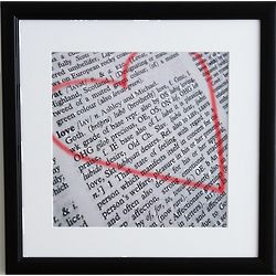 Personalized Love Defined Print