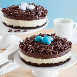Bird's Nest Cheesecakes