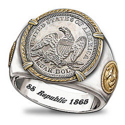 Men's SS Republic Shipwreck Ring