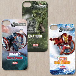 Personalized Marvel Avengers iPhone Case Insert