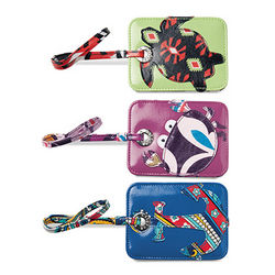 Stylish Seashore Colorful Luggage Tag