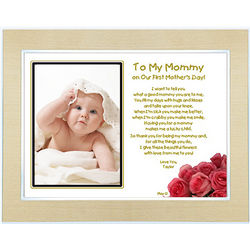 New Mom Personalized Mother's Day Frame