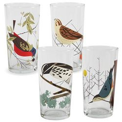 Charley Harper Birds Glasses