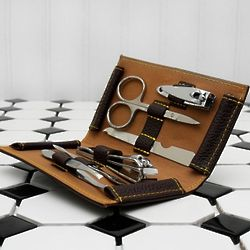 Gentleman's 6 Piece Travel Manicure Set