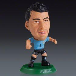 Uruguay Soccer Luis Suarez Mini Figurine