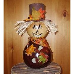 Scarecrow Gourd Fall Decoration