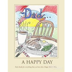 A Happy Day Personalized Print