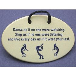 Dance As If No One Were Watching Plaque